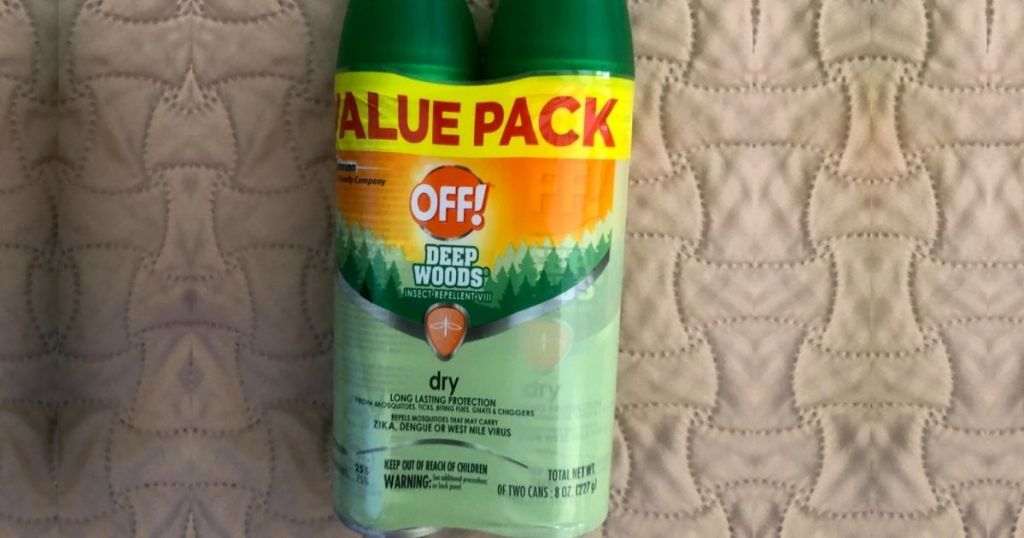 OFF! Deep Woods Insect Repellent 2-pack
