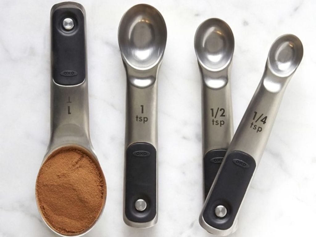 OXO Magnetic measuring spoons