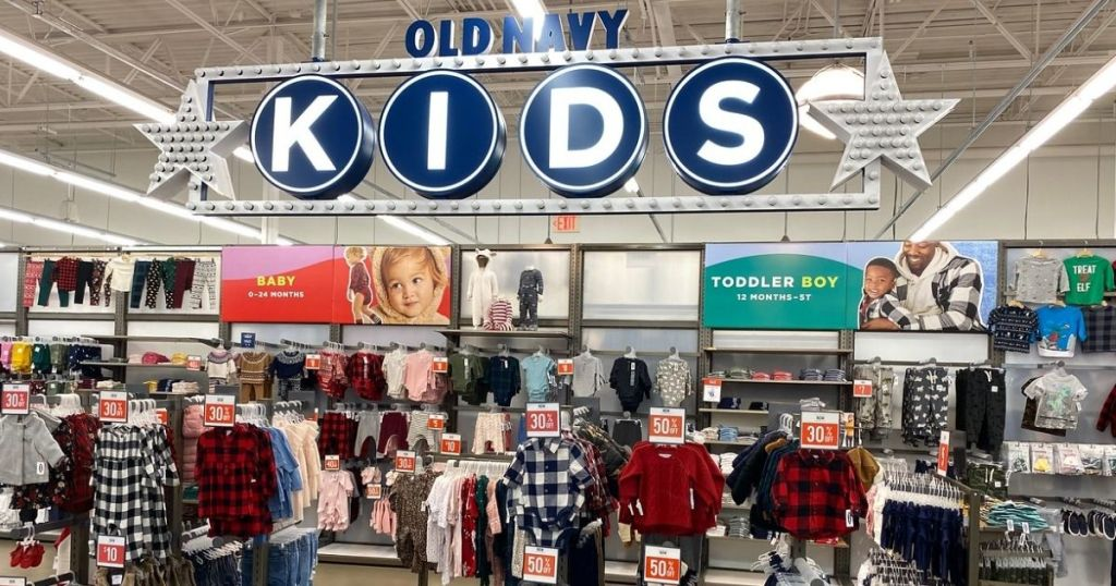 Old NAvy Kids in store