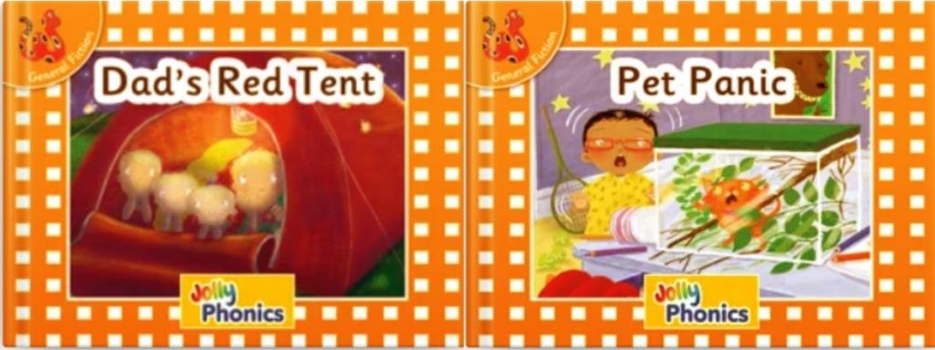 2 Orange Level E-books