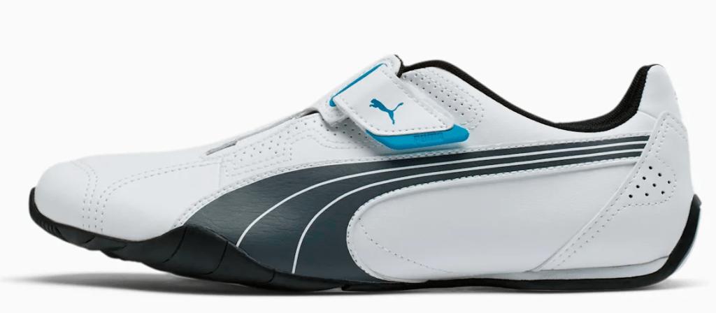 black and white men's sneaker