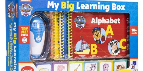 My Big Learning Box Only $26.98 on Sam'sClub.com | Includes Books, Flash Cards, Reader & More