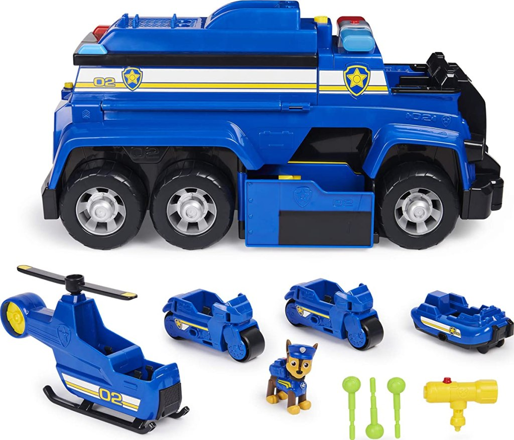 Paw Patrol cruiser and figures