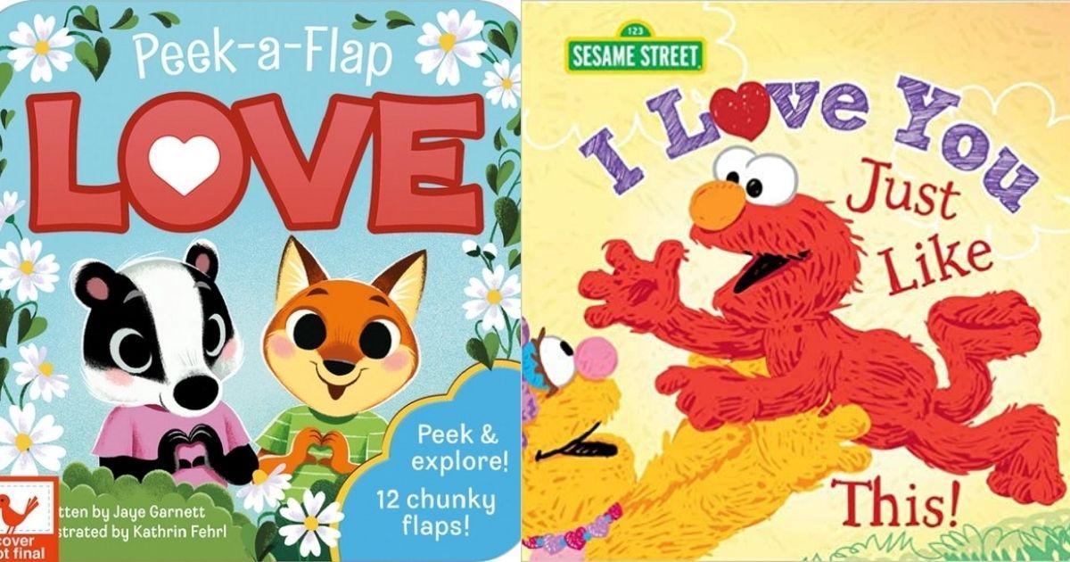 Peek-a-Flap Love & I Love You board book covers