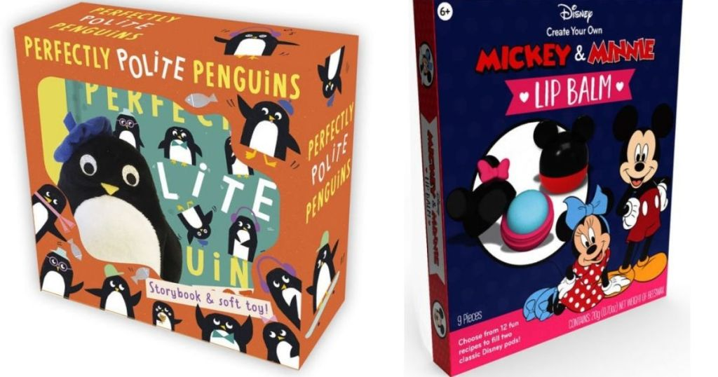 Penguins and Create Your Own Lip Balm Book