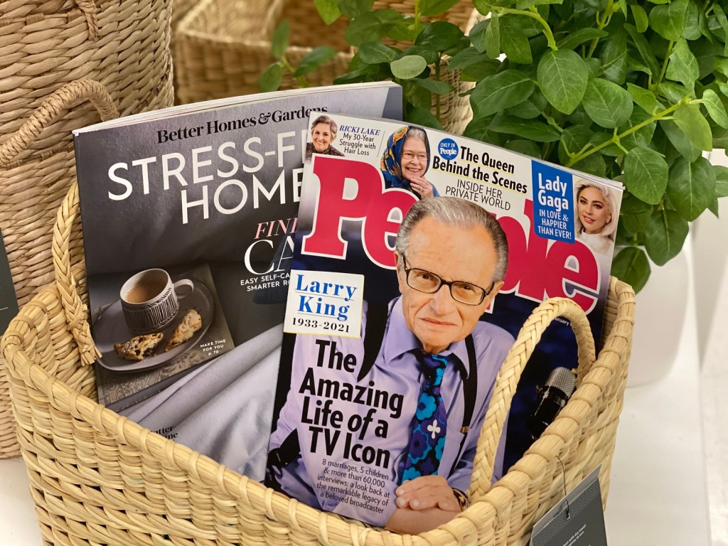 People Magazine with Larry King