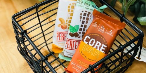 Core & Perfect Bars as Low as 24¢ at Target | Just Use Your Phone