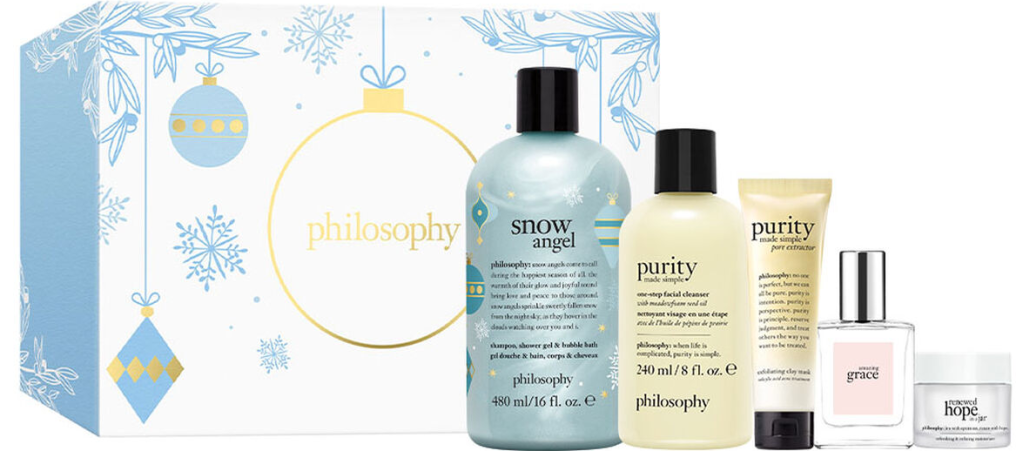 Philosophy Gift Set with beauty products and box