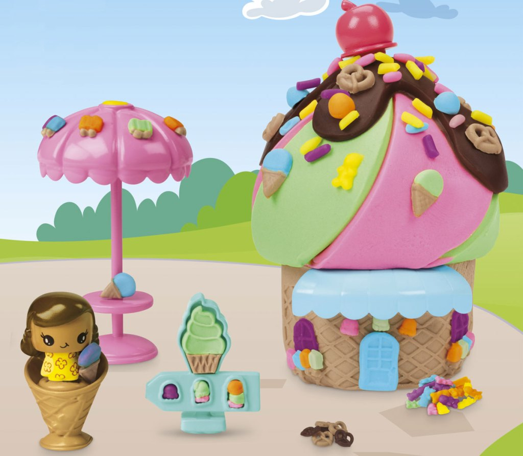 play-doh ice cream stand set