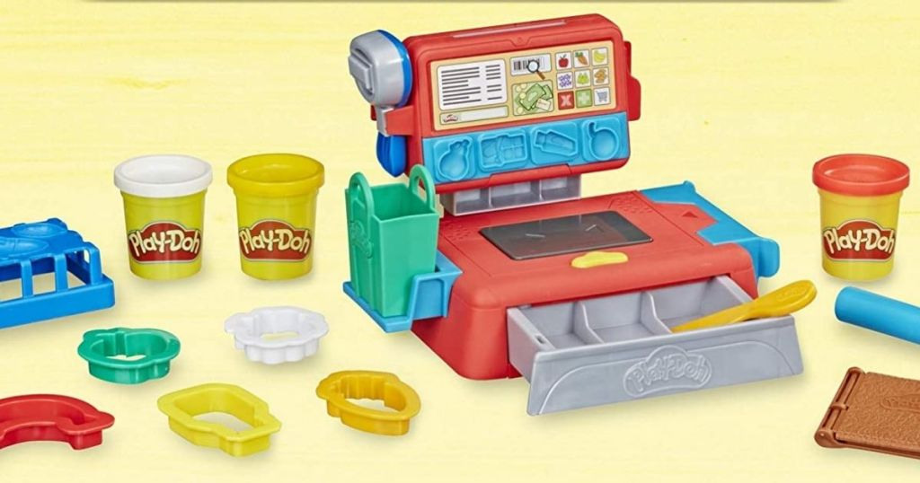 Play-Doh Cash Register with accessories