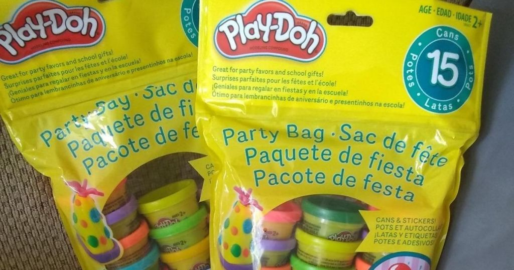two Play-Doh Party Bags