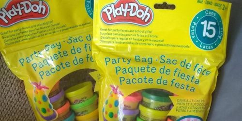 Buy 2, Get 1 FREE Play-Doh 15-Count Party Packs | Stock Up for Trick or Treaters!
