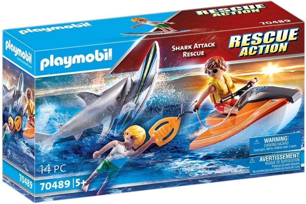 Playmobil Shark Attack Rescue in box