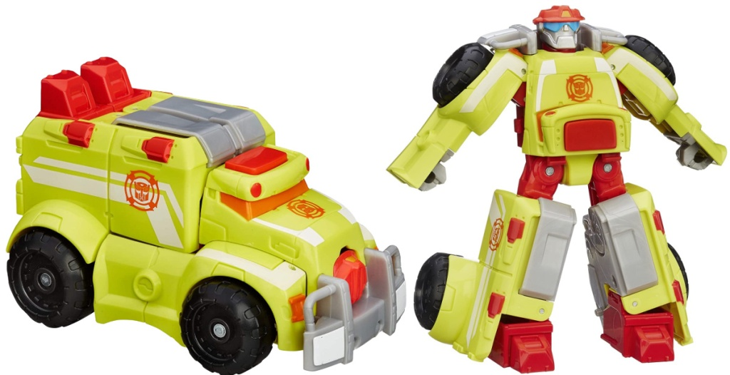 Playskool Heroes Transformers Rescue Bots Heatwave Robot Action Figure