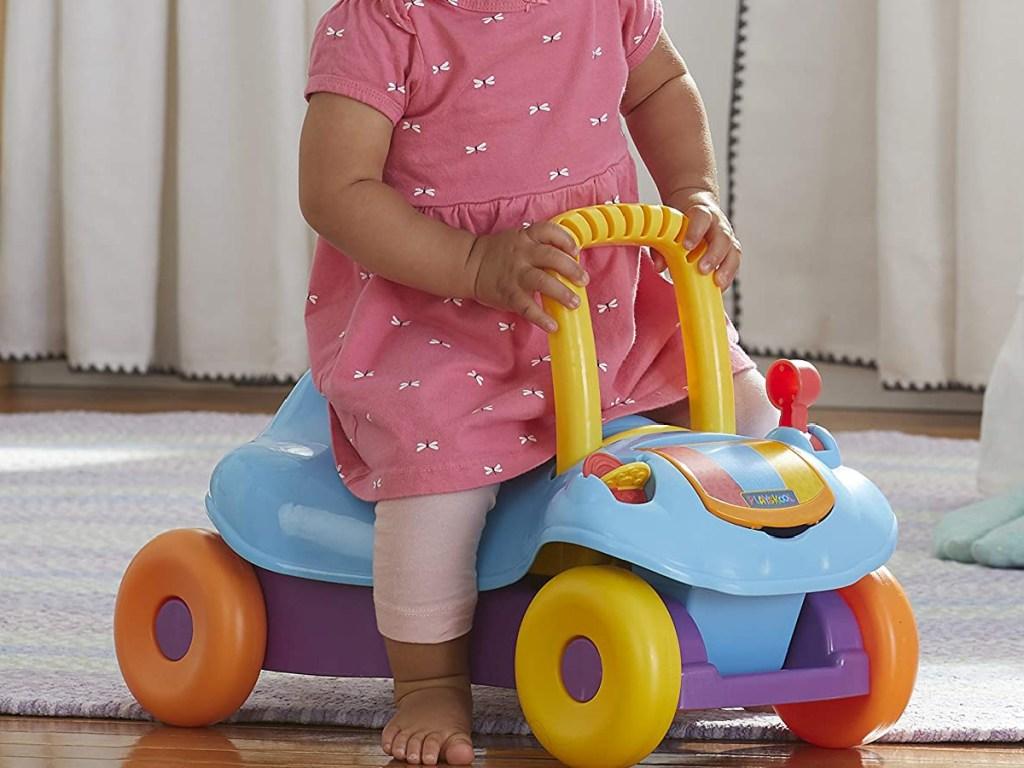 Playskool Step Start Walk 'n Ride Active 2-in-1 Ride-On and Walker Toy