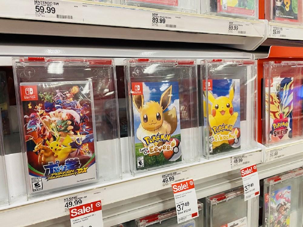 Pokemon Evee and Pikachu