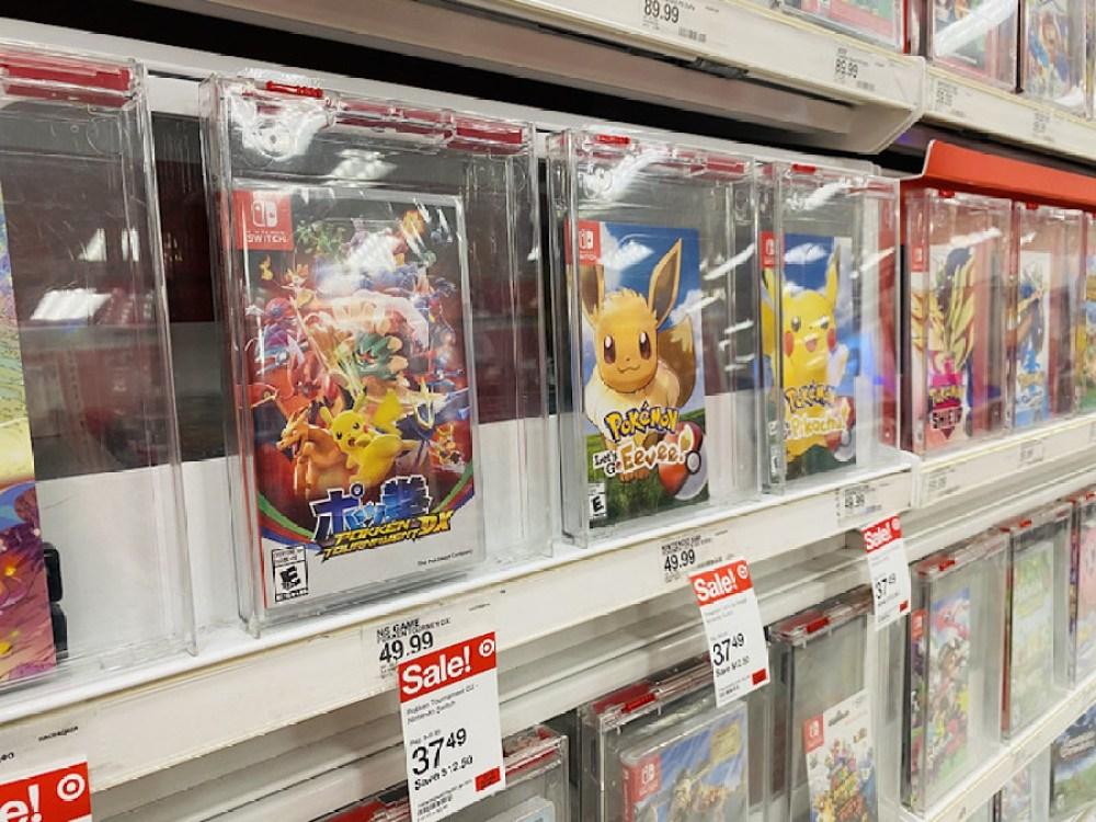 Pokemon Pokken game on store shelf