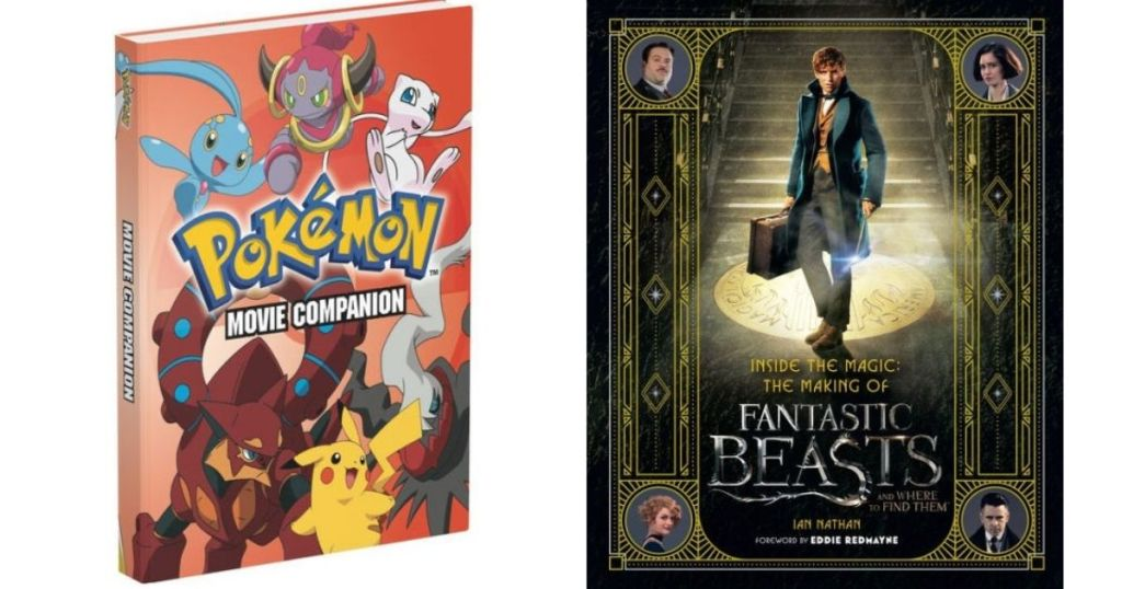Pokemon and Fantastic Beasts Books
