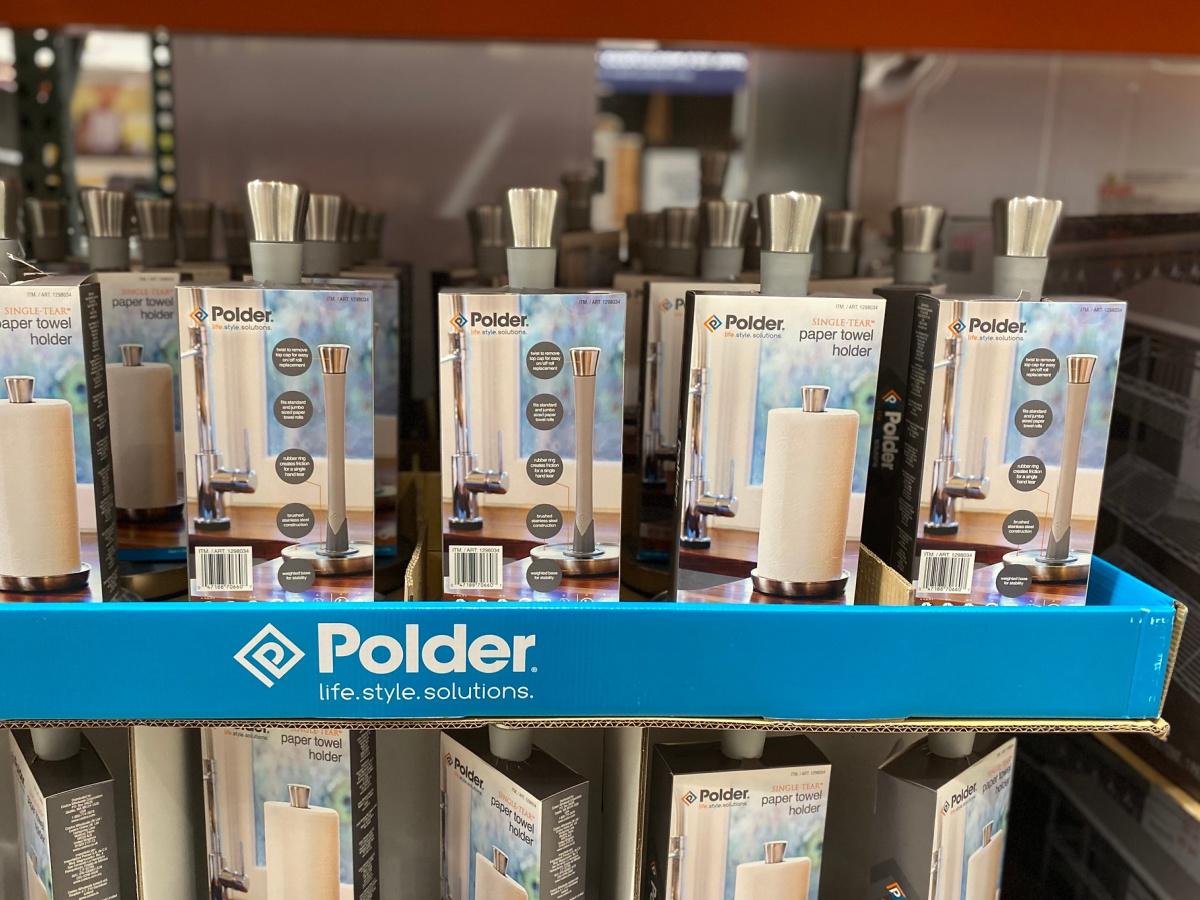 Polder Paper Towel Holder (2)