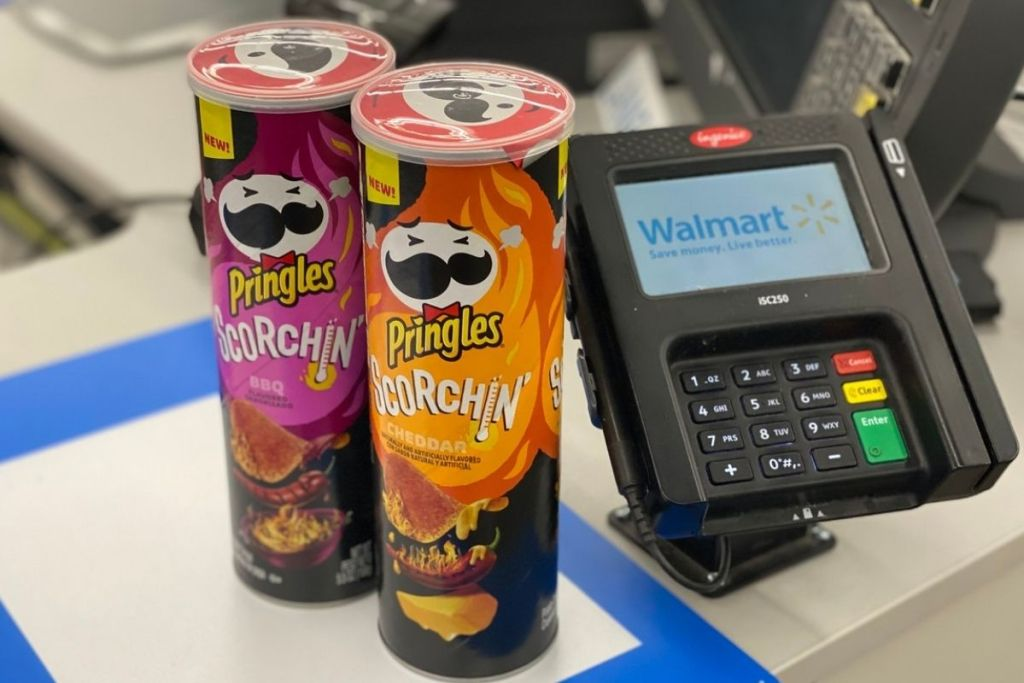 Scorchin Chips with Walmart Register