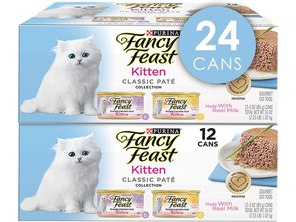 Purina Fancy Feast Kitten 24-Cans Wet Cat Food
