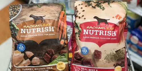 Print This Coupon Now to Save $2/1 Nutrish Dry Dog Food