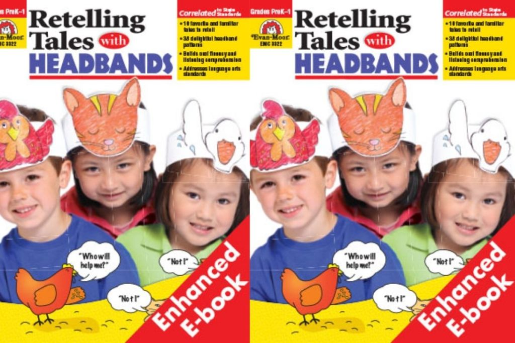 2 covers of Retelling Tales Headbands