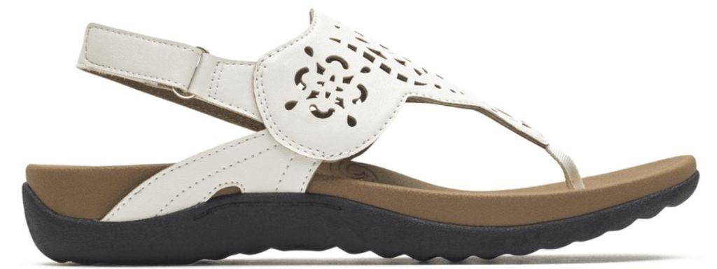 white Rockport Women's Sandals