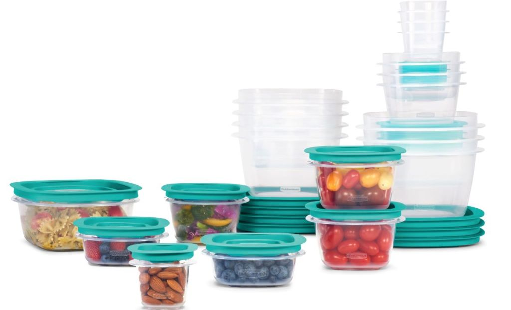 Rubbermaid Containers stacked