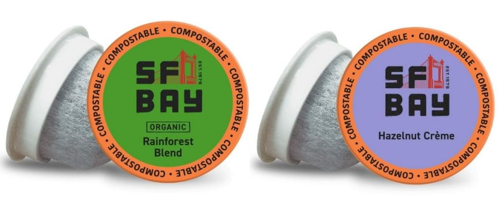 2 kinds of SF Bay Coffee Pods