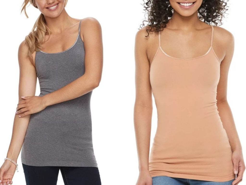 Two SO Juniors Seamless Camis
