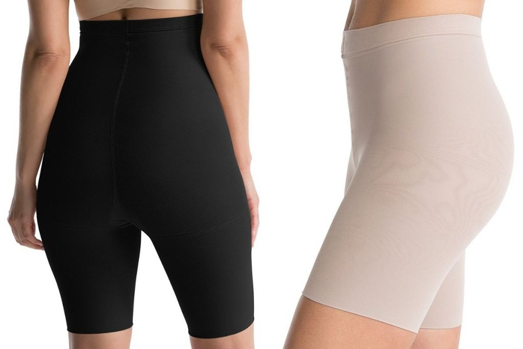 black and nude SPANX Shapers