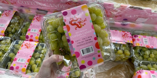 We Found 3-Pound Packs of Cotton Candy Grapes at Sam's Club