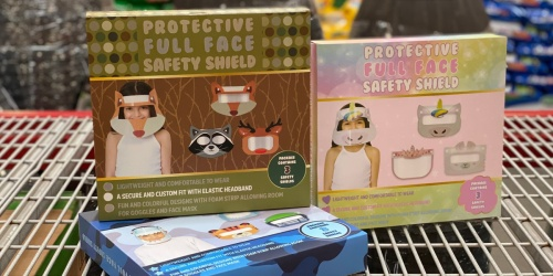 Kids Protective Full Face Shield 3-Packs Just $4.99 at Sam's Club   In-Store & Online