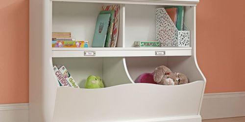 2-Shelf Bookcase w/ Storage Bins from $81.89 Shipped + Get $10 Kohl's Cash (Regularly $210)