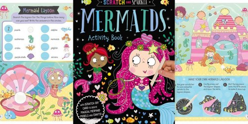 Scratch & Sparkle Mermaids Activity Book Only $1.57 on Amazon (Regularly $7)