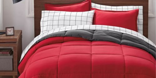 Serta Reversible Comforter Set w/ Sheets from $27.99 on Kohl's (Regularly up to $100)