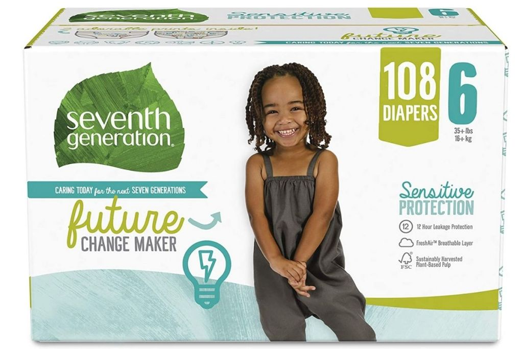 Seventh Generation Size 6 packaging