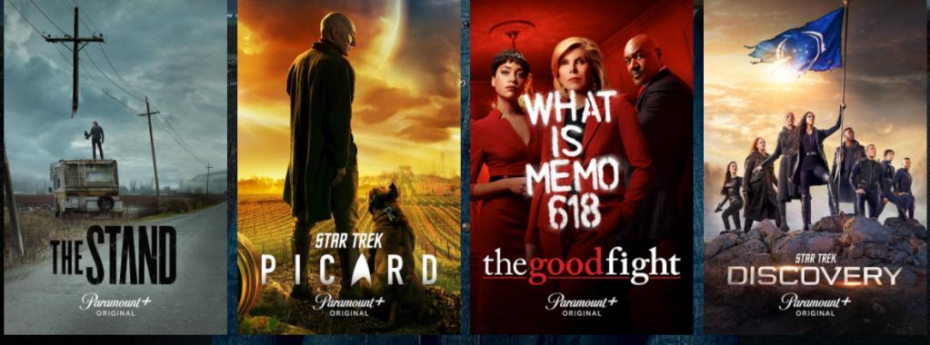 Shows on Paramount Plus