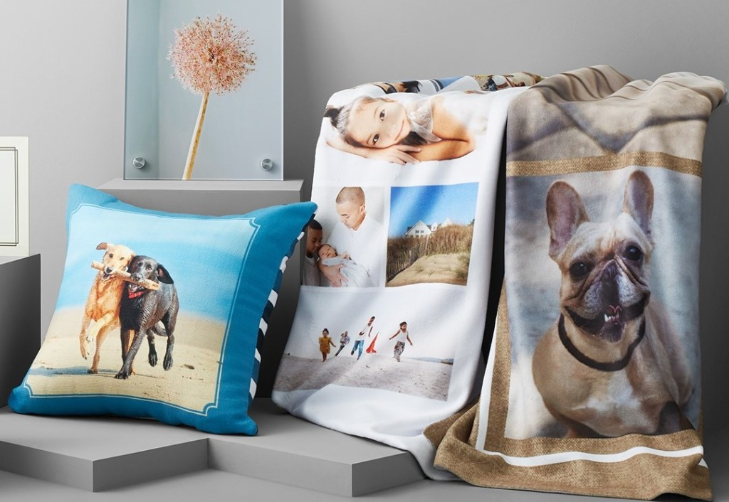 Shutterfly Blankets and Pillow