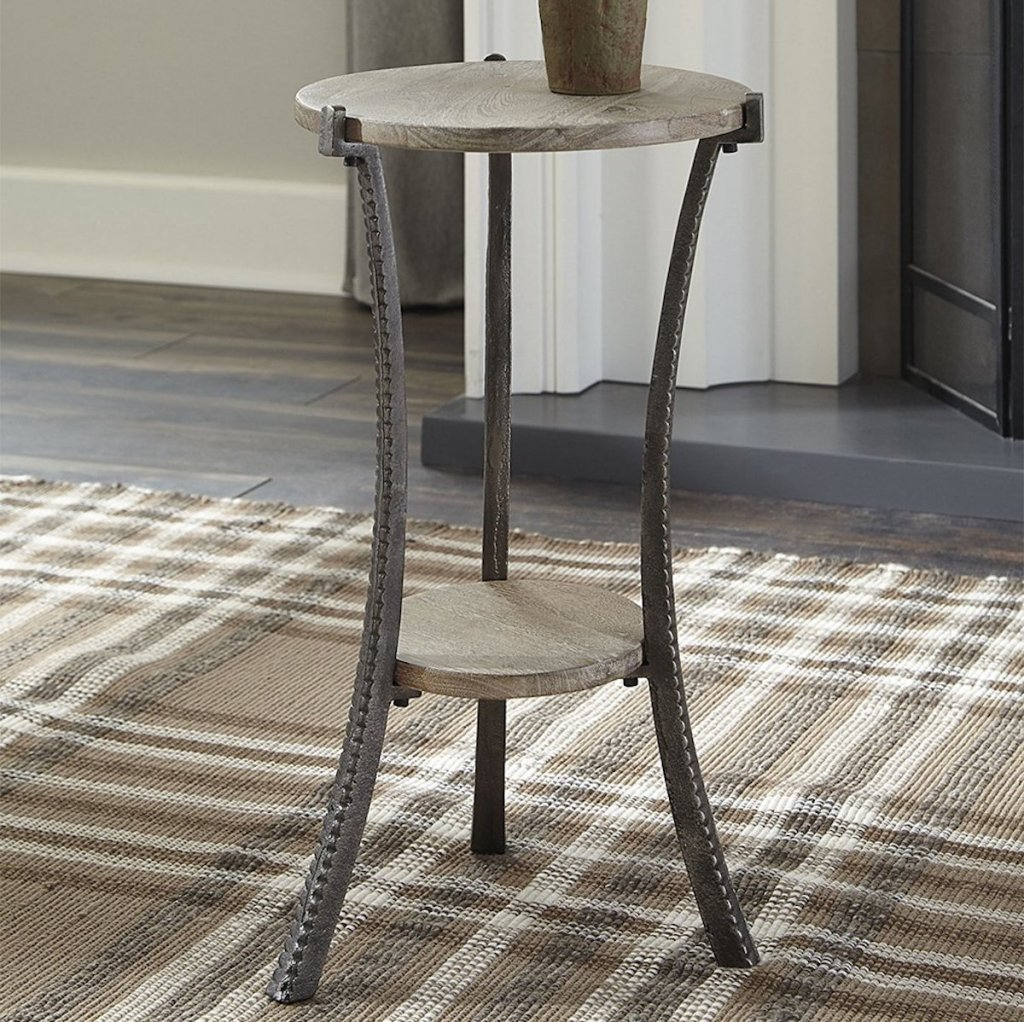 light brown Signature Design by Ashley Furniture Accent Tables