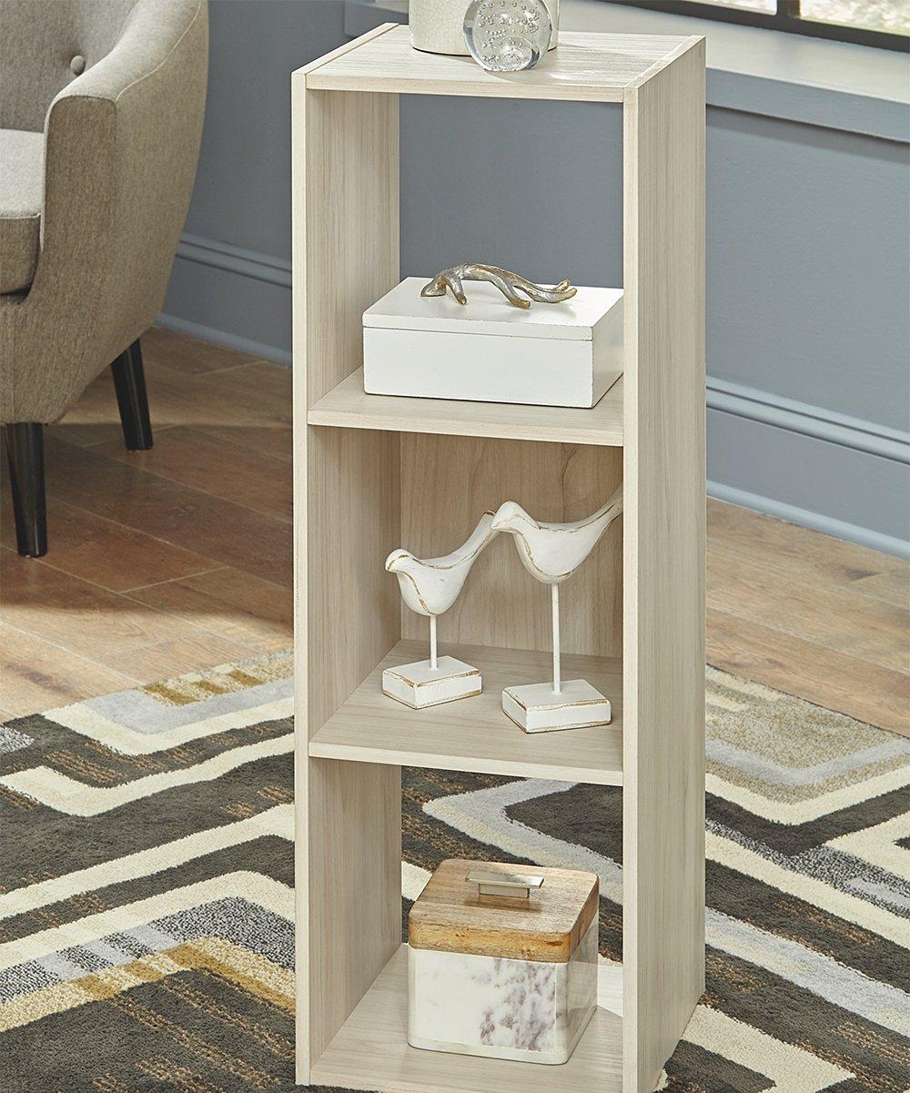 Signature Design by Ashley Furniture light brown bookshelf