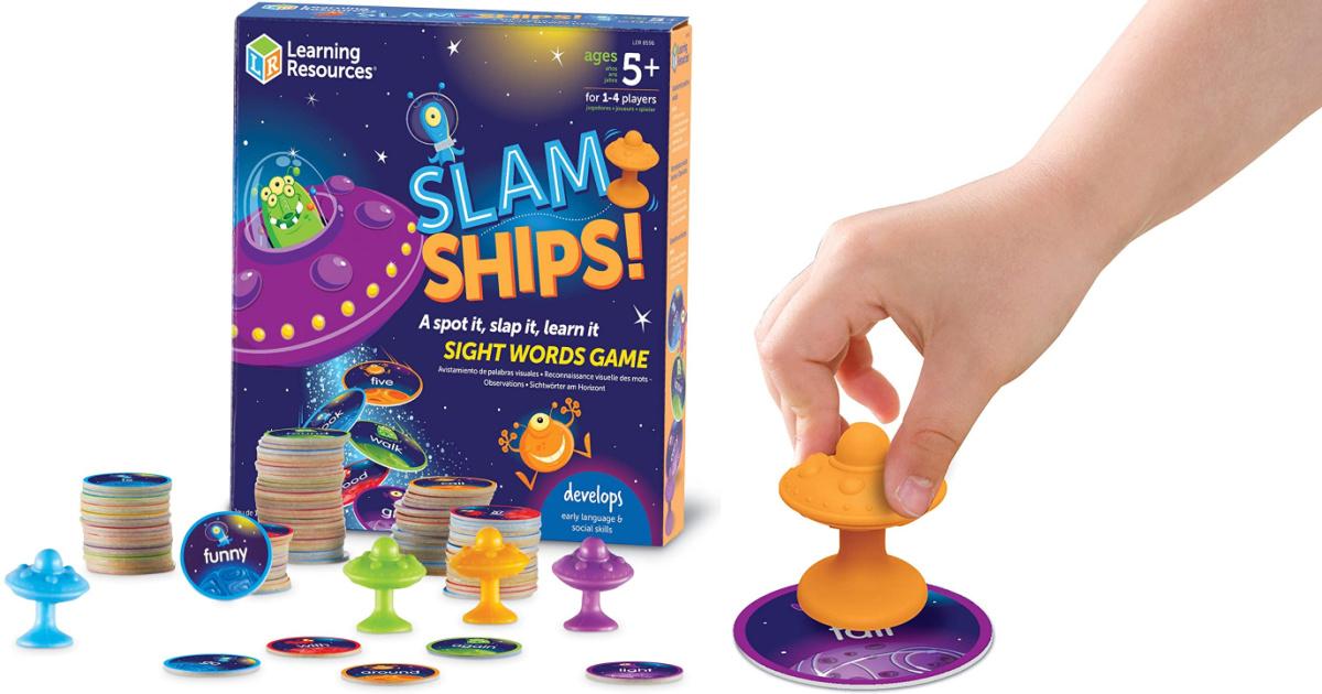 Slam Ships Sight Words Game