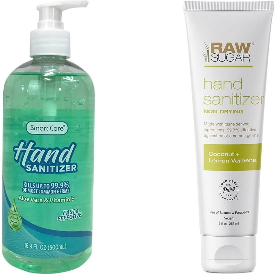 SmartCare and Raw Sugar Hand Sanitizers