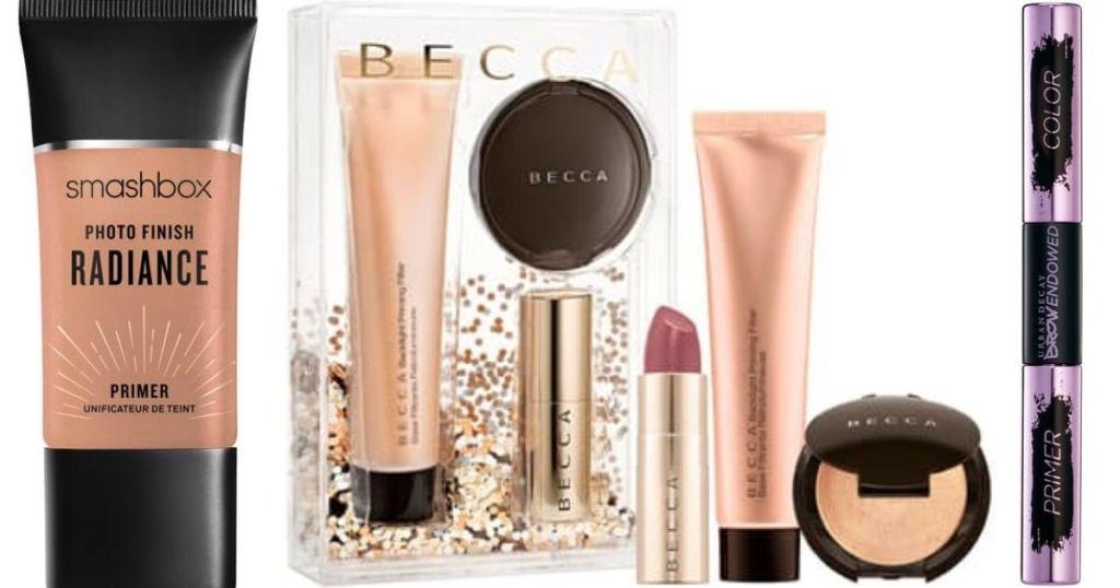 Smashbox, Becca and Urban Decay Cosmetics