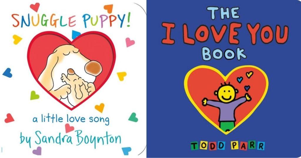Snuggle Puppy! & I Love You Book board book covers