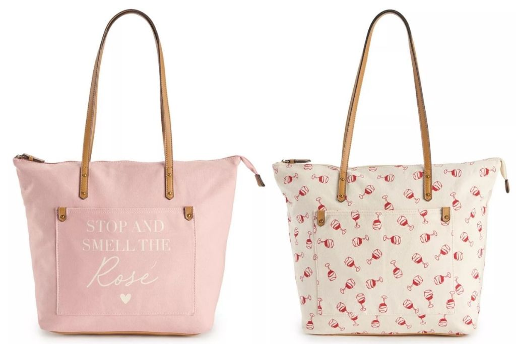 2 Sonoma Goods For Life Women's Totes