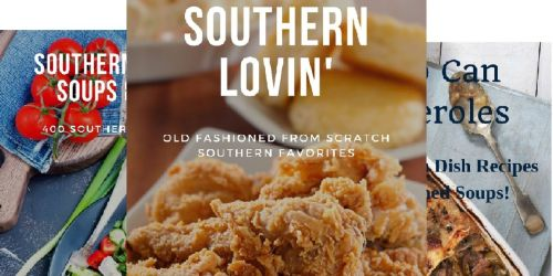 Southern Cooking eBooks Only 99¢ on Amazon | Choose from 70 Titles