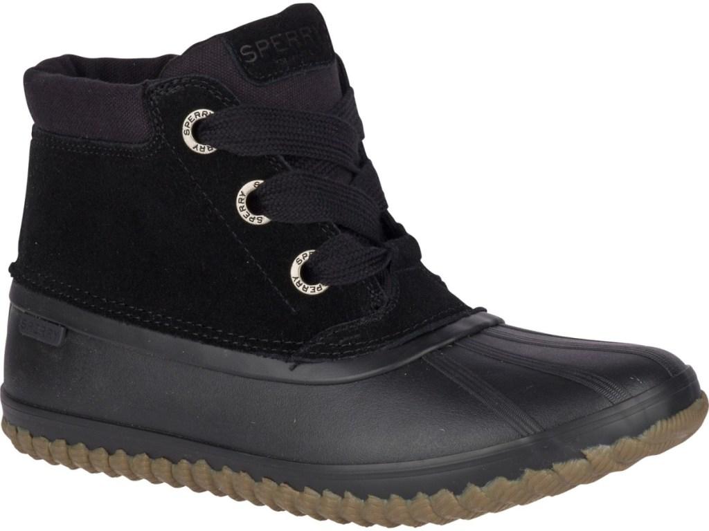 women's black duck boot