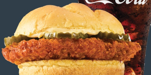 Buy 1 Smashburger Scorchin' Hot Crispy Chicken Sandwich, Get 1 Free on 4/20 Only